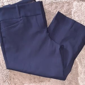 Women The Limited exact navy blue crop jeans